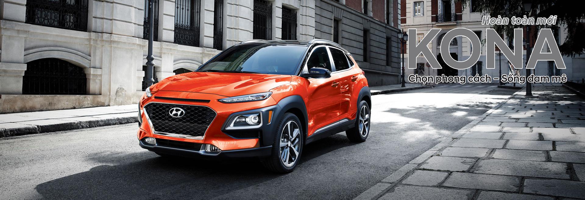 Hyundai Kona 2021 hoàn toàn mới