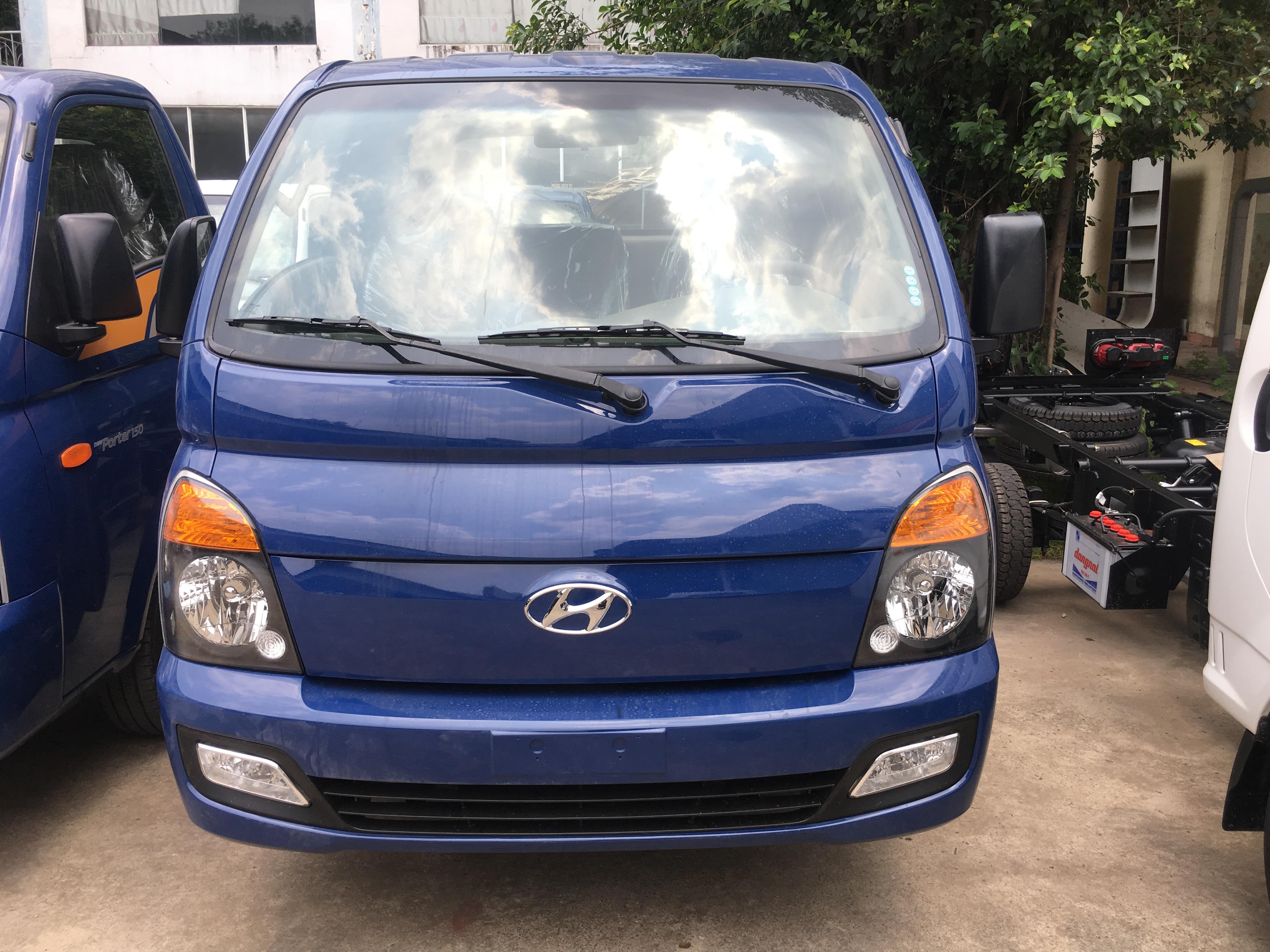 Hyundai New Porter 1,5 tấn thùng đông lạnh