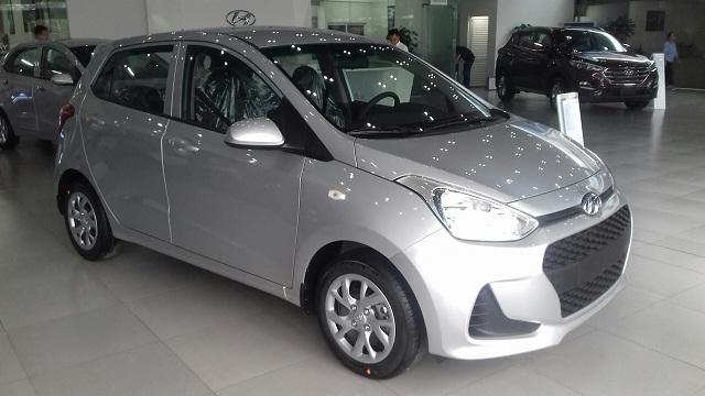 Hyundai i10 hatchback 2021 Màu Bạc