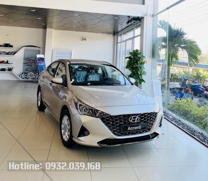Hyundai Accent 2021 màu vàng Be
