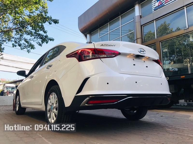 Hyundai Accent 2021 màu Trắng