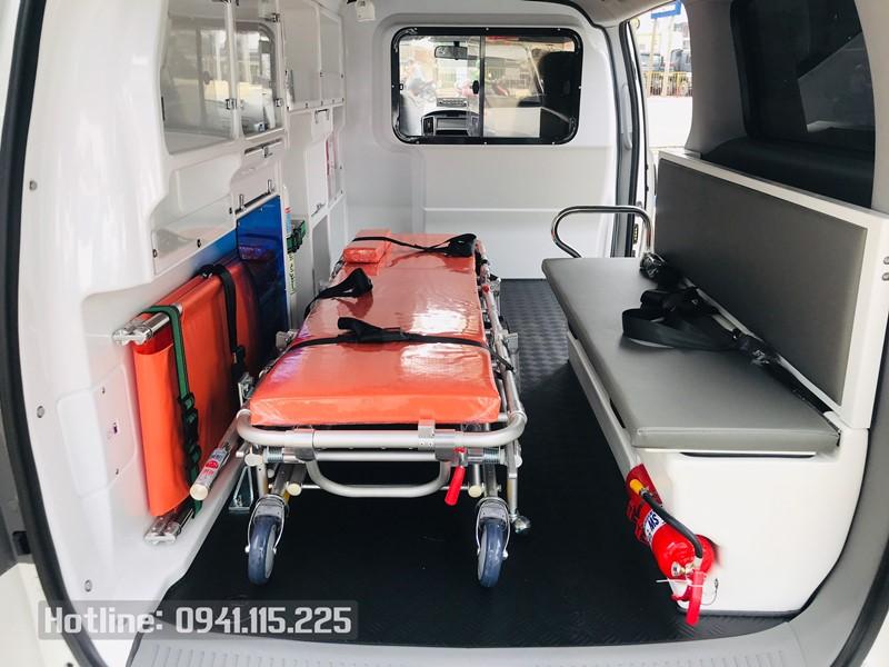 Trang bị trên xe cứu thương Hyundai Starex 2021